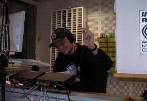 Arne Wiechern im Antenne-Ruhr-Studio